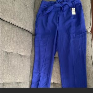 Express High Waisted Paperbag Ankle Pant. NWT